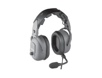 TELEX PH-3500 DUAL-SIDED WITH 24 DB NRR, Flexible Dynamic Boom Mic