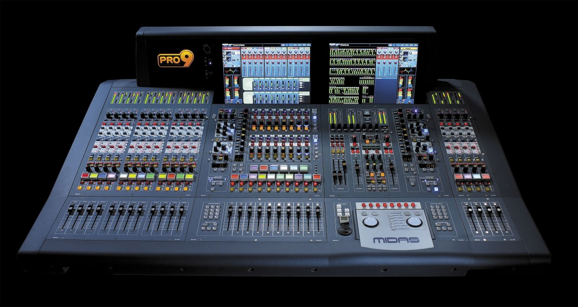 Mixer Midas PRO 9, new purchase of Mister X Service