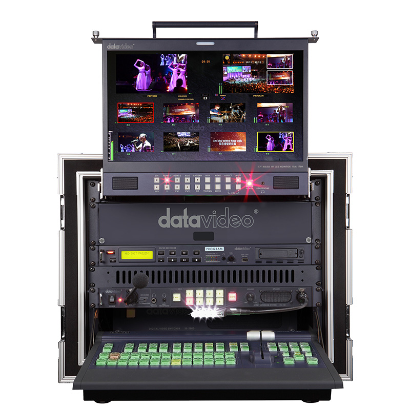 MS-2800 Mobile Video Studio, new addition to our video department