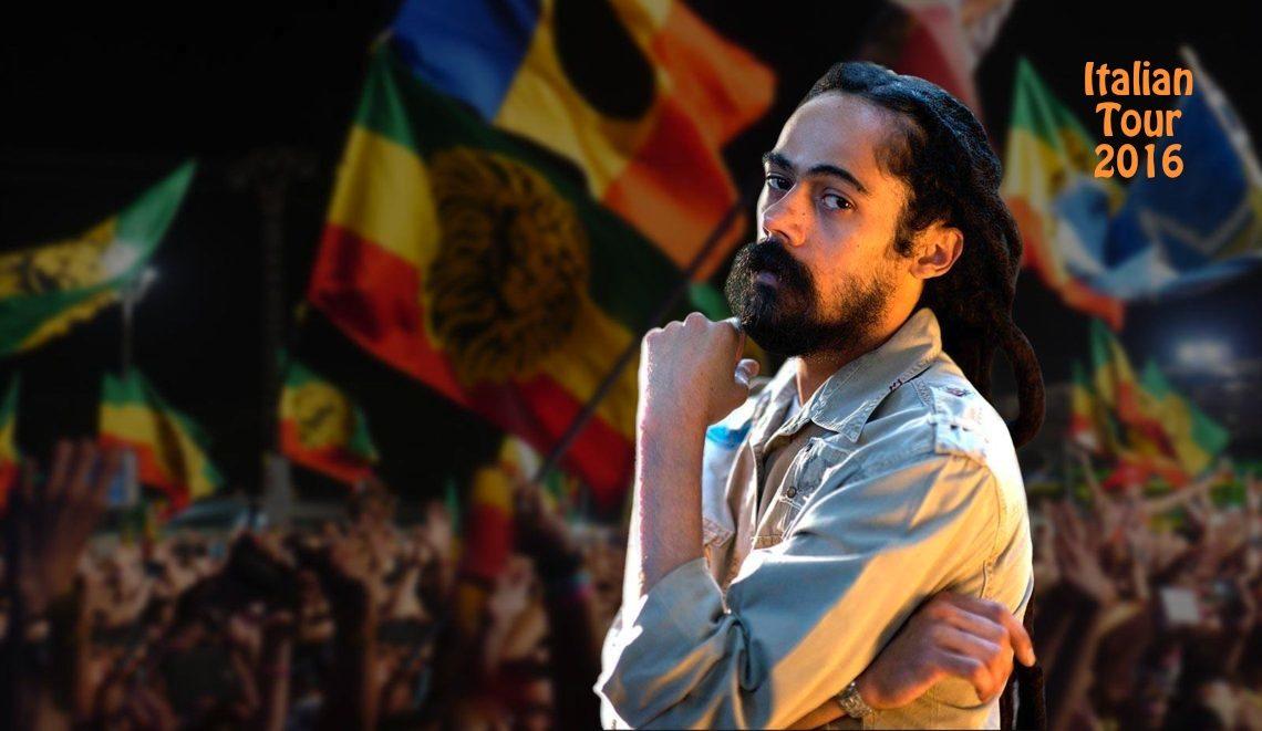 Damian Marley – Italian tour 2016