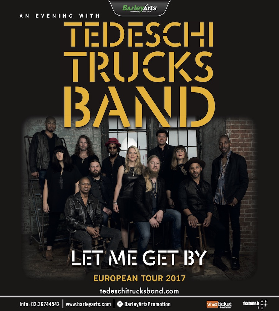 TEDESCHI TRUCKS BAND – Let me get by tour