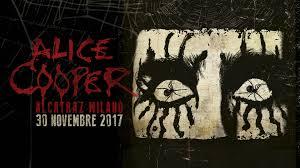 ALICE COOPER – The only Italian date at Alcatraz, Milan on 30 November
