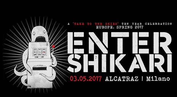 "ENTER SHIKARI  – ""Take to the Skies"" l'intero album live"