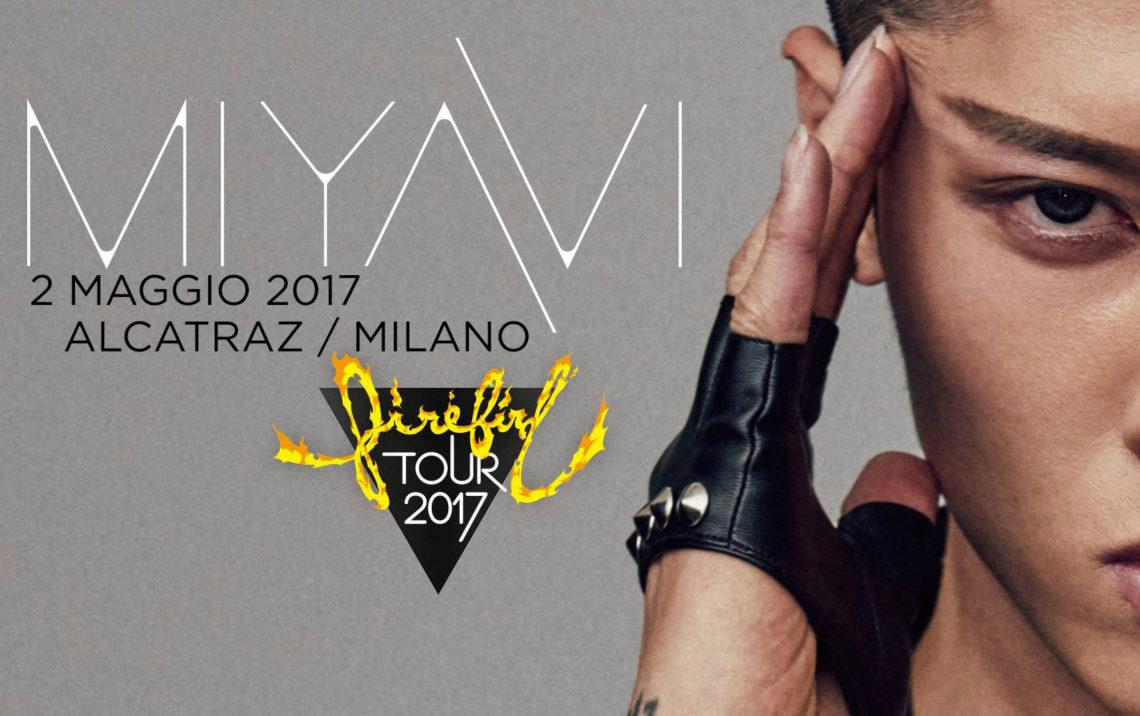 MIYAVI – Firebird tour 2017