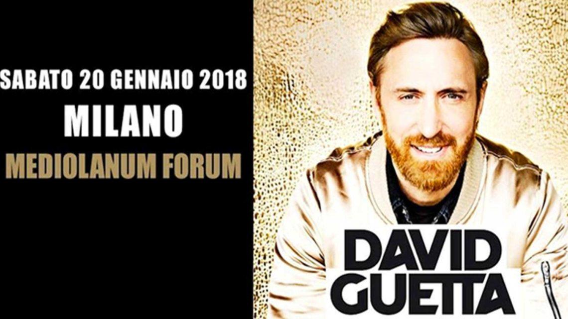 DAVID GUETTA – Il Mediolanum Forum si scatena