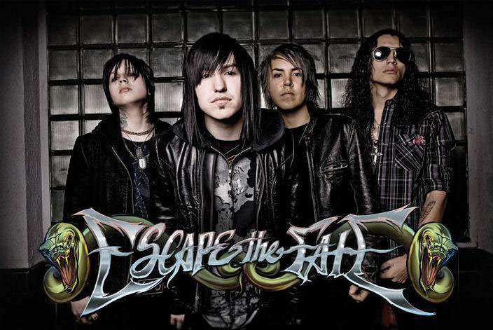 ESCAPE THE FATE – Metalcore-screamo in Milan