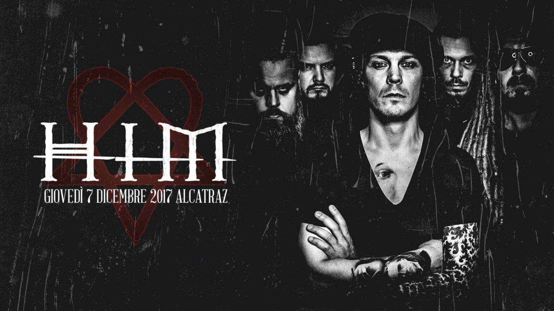 HIM – Unica data italiana per il tour d'addio