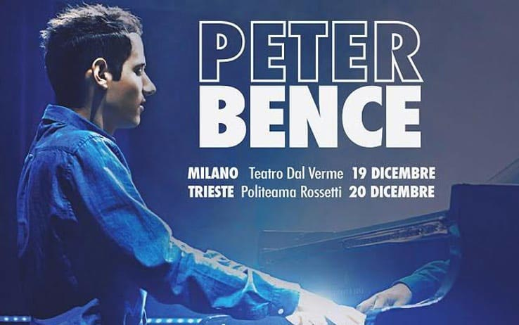PETER BENCE – Italian debut for the young pianist