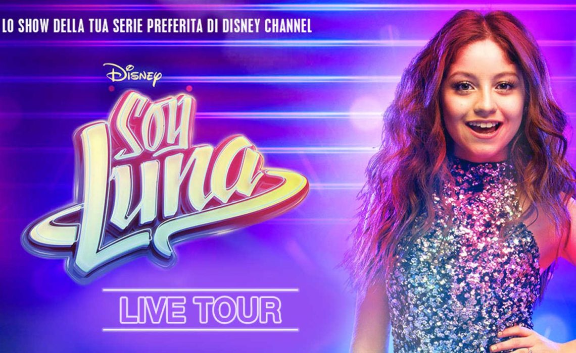 SOY LUNA – Lively Disney stars finally in Italy for the tour