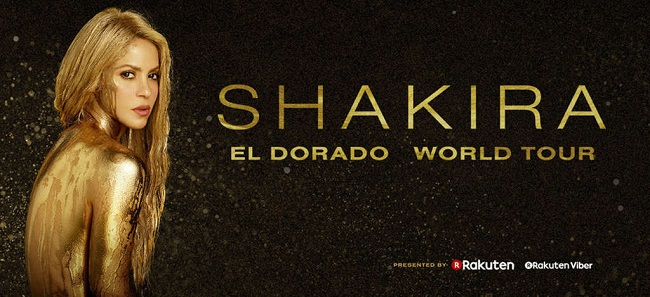 SHAKIRA – EL DORADO WORLD TOUR