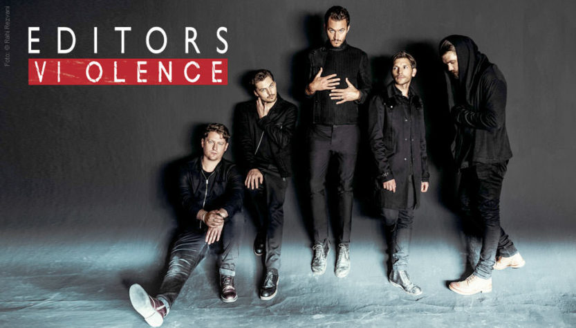 EDITORS – The Violence tour arrives in Milan