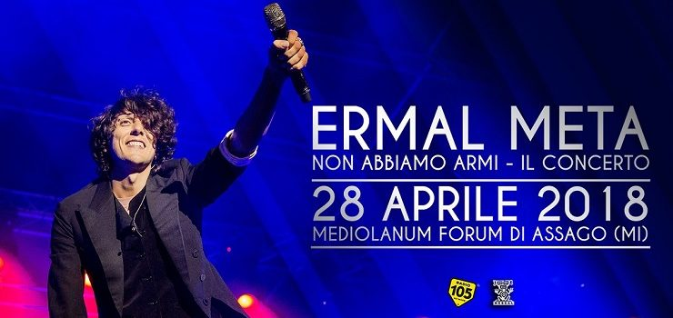 ERMAL META – A gig to celebrate his big successes