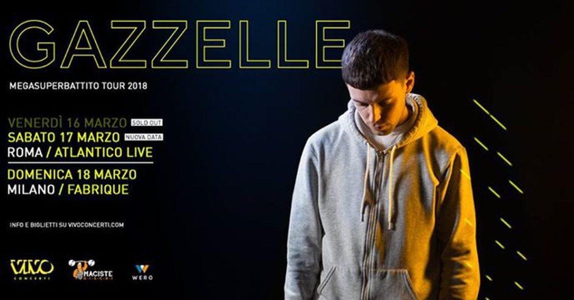 GAZZELLE – Megasuperbattito Tour