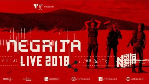 NEGRITA – IL TOUR