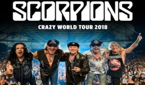 SCORPIONS – CRAZY WORLD TOUR