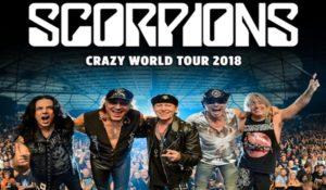 SCORPIONS – crazy world tour