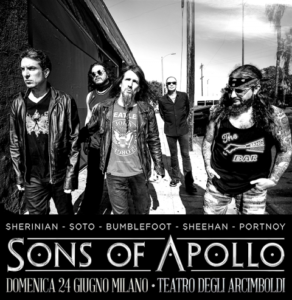 SONS OF APOLLO – Psychotic Symphony tour
