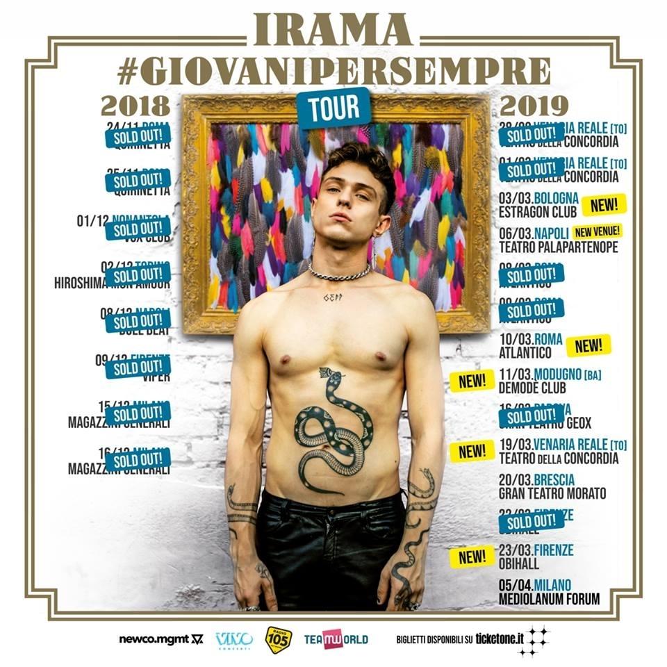 IRAMA – TOUR 2019