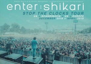 ENTER SHIKARI – Stop The Clocks Tour
