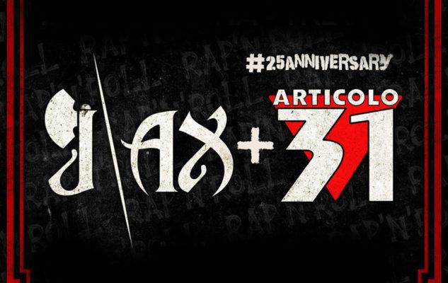 J-AX + ARTICOLO 31 – #25 Anniversary Tour