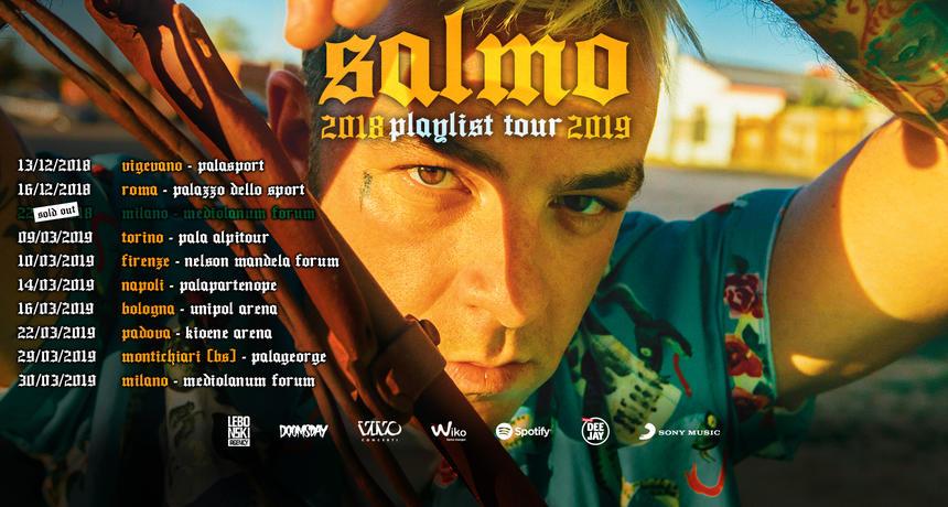 Salmo – Playlist tour 2018/2019