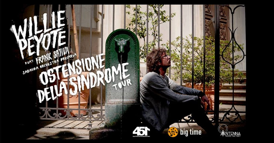 Willy Peyote – Syndrome Ostension Tour