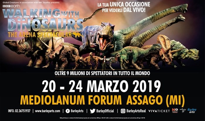 WALKING WITH DINOSAURUS- The arena spectacular Tour