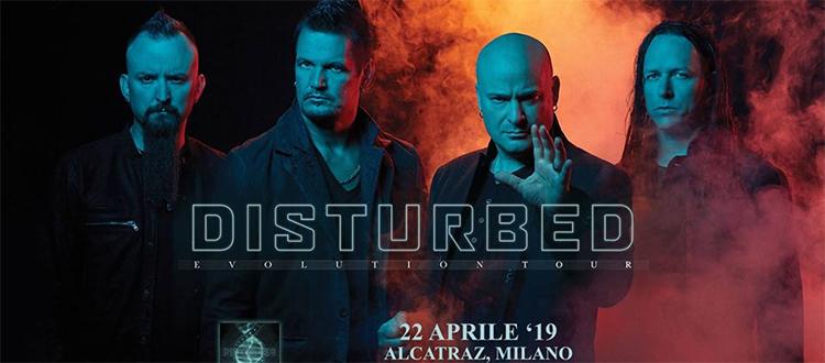 DISTURBED – Evolution Tour