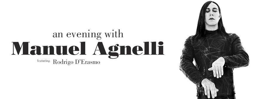 Manuel Agnelli (feat. Rodrigo D'Erasmo) – An evening with tour
