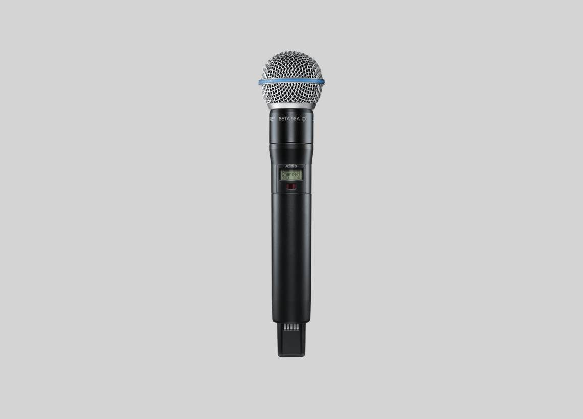 SHURE ADX2FD/SM58 WIRELESS MICROPHONE