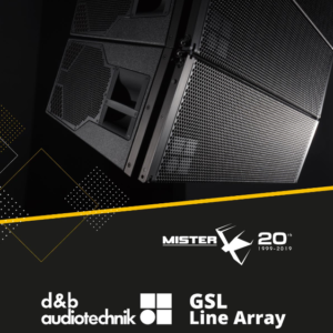 GSL di d&b audiotechnik Line Array