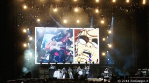 Aerosmith@Milano: Audio set up by Mister X Service