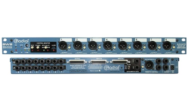 Radial SW8 Auto-Switcher, Signal-Splitter