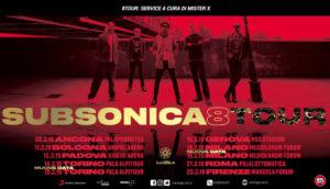 8 TOUR SUBSONICA 2019 – DICONO DI NOI