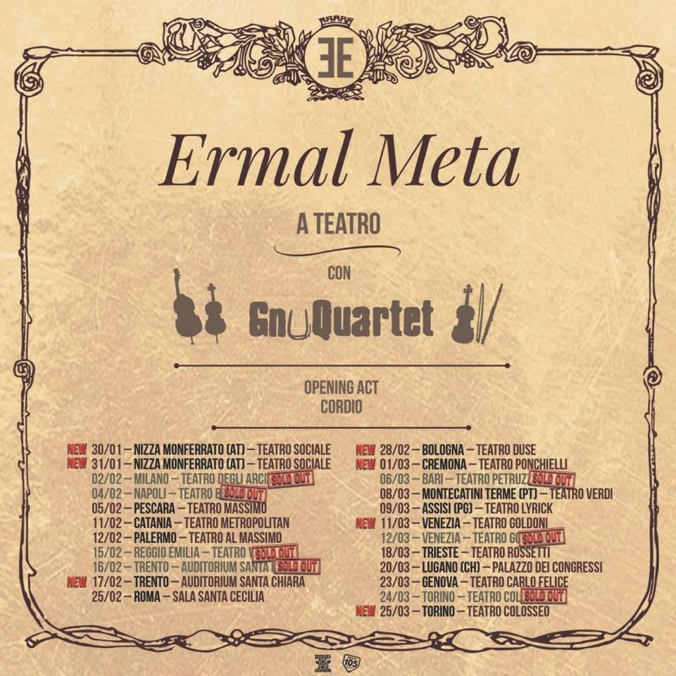 Ermal Meta – A Teatro (In Theater) Tour