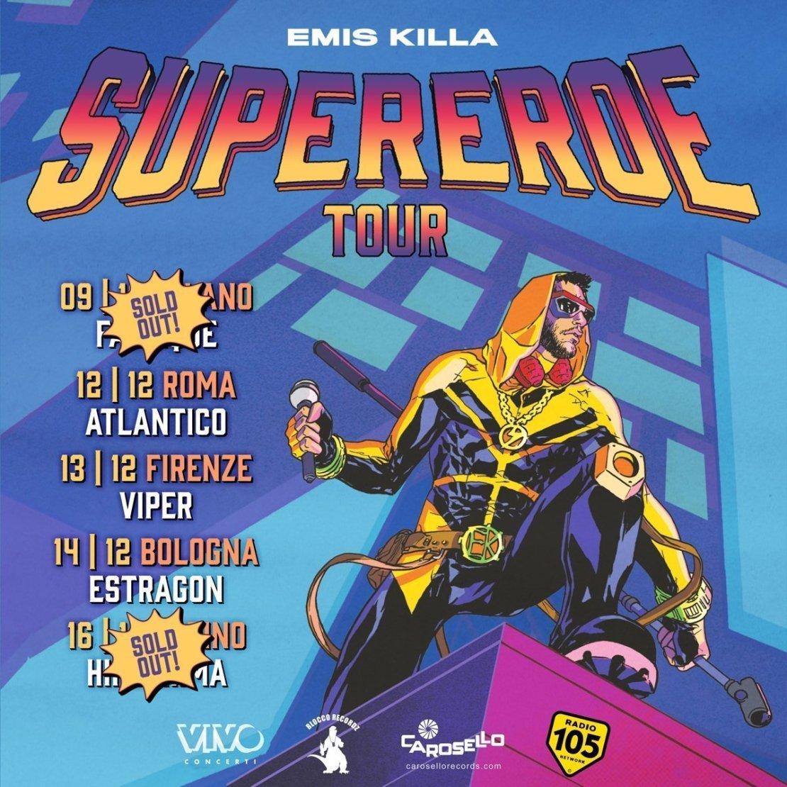 Emis Killa – Superhero tour