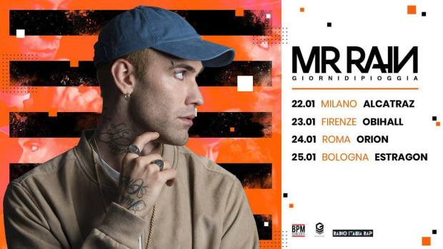 Mr Rain – Giorni di Pioggia (Days of Rain) Tour