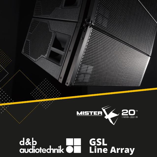 GSL di d&b audiotechnik Line Array